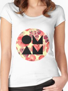 Of Monsters and Men Logo Women's Fitted Scoop T-Shirt