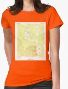 USGS TOPO Map Arkansas AR Sparkman NW 259647 1971 24000 Womens Fitted T-Shirt