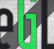eGL Gaming Logo Square Sticker