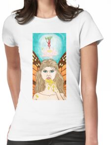 Honey Mouth Womens Fitted T-Shirt
