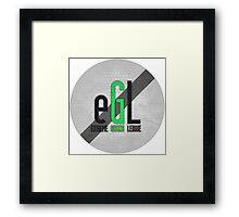 eGL Gaming Logo Framed Print