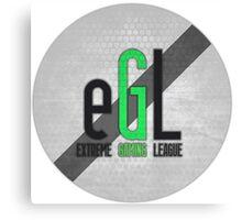eGL Gaming Logo Canvas Print