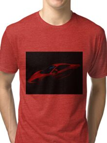 Red Lamborghini Dream Tri-blend T-Shirt