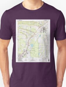 USGS TOPO Map Arkansas AR Cabot 258099 1987 24000 Unisex T-Shirt