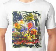 Despondent Roses By Darryl Kravitz Unisex T-Shirt