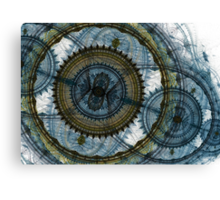 Blue machine Canvas Print