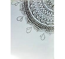 beautiful mandala design  Photographic Print