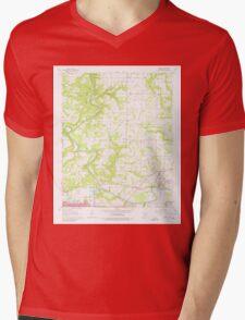 USGS TOPO Map Arkansas AR Judsonia 258848 1965 24000 Mens V-Neck T-Shirt
