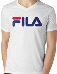 FILA Mens V-Neck T-Shirt