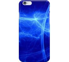 Blue lightning iPhone Case/Skin