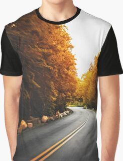 autumn road Graphic T-Shirt