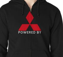Powered By Mitsubishi Zipped Hoodie