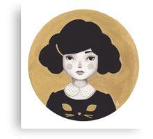 Kitty Girl III Canvas Print