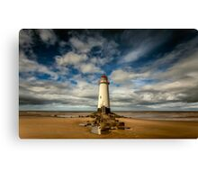 Lighthouse Point of Ayre Canvas Print