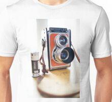 The Ricohflex Shot the Film Unisex T-Shirt