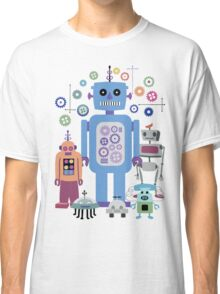Retro Robots for Sci-fi Nerds and Geeks Classic T-Shirt