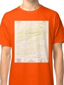 USGS TOPO Map Arkansas AR Barber 257929 1987 24000 Classic T-Shirt