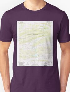 USGS TOPO Map Arkansas AR Barber 257929 1987 24000 Unisex T-Shirt