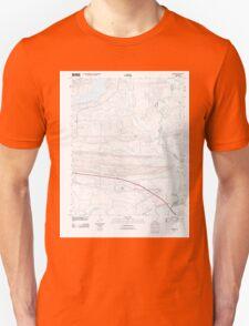 USGS TOPO Map Arkansas AR Menifee 20110804 TM Unisex T-Shirt