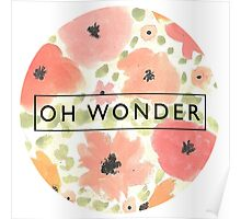 Oh Wonder Logo Poster