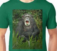 Yawning Chimp Unisex T-Shirt