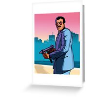 Grand Theft Auto - GTA 6 Greeting Card