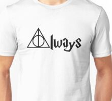 Always Deathly Hallows Harry Potter RC Unisex T-Shirt