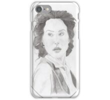 HG Wells in oval iPhone Case/Skin