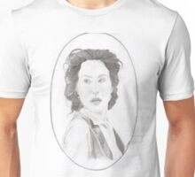HG Wells in oval Unisex T-Shirt