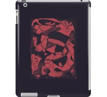 Abstract scribble  iPad Case/Skin
