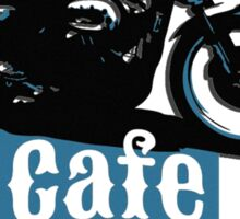 Cafe Racer - racing vintage motorcycle Sticker