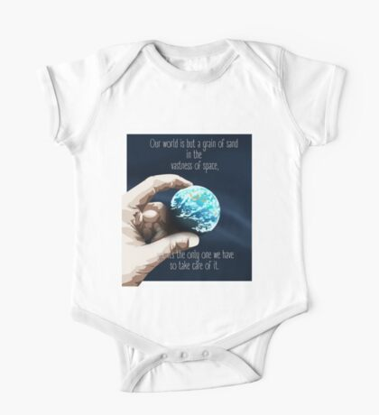 We Are But A Grain Of Sand In Space One Piece - Short Sleeve