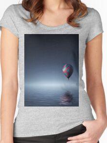 Mongolfière T Women's Fitted Scoop T-Shirt