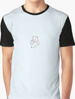 Bananya - Baby Bananya (varant 2, black outline) Graphic T-Shirt
