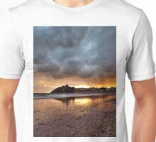 Criccieth Castle Sunset 2 Unisex T-Shirt