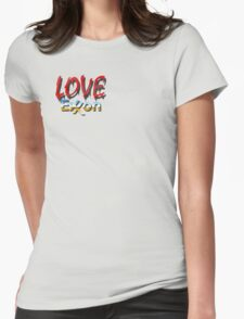 LOVE EXXON Womens Fitted T-Shirt