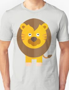 Cute Lion King Illustration // Cute African Animal Unisex T-Shirt
