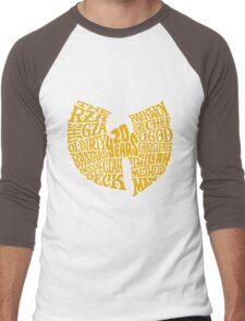 Text Music Anniversary Men's Baseball ¾ T-Shirt