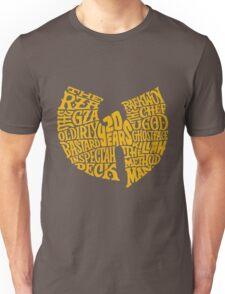 Text Music Anniversary Unisex T-Shirt