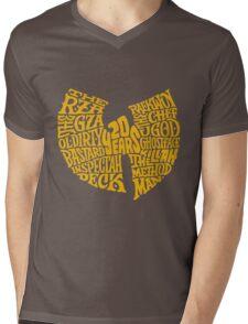 Text Music Anniversary Mens V-Neck T-Shirt
