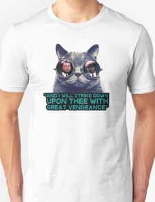 Galaxy cat glasses - pulp fiction quote jules Unisex T-Shirt