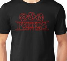 Stranger Things - Friends and lies Unisex T-Shirt