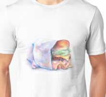 burger color pencils illustration Unisex T-Shirt