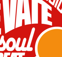 Only Great Passion Can Elevate The Soul To Great Things Sticker