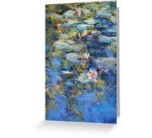 Monet's Pond, Giverny Greeting Card