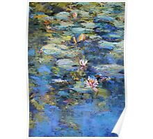 Monet's Pond, Giverny Poster