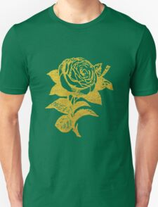 Gold Rose Unisex T-Shirt