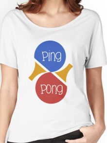 Ping Pong Women's Relaxed Fit T-Shirt