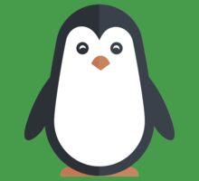 Cute Penguin // Cute Aquatic Animal Kids Tee