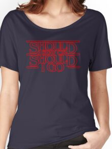 Stranger - Should i stay or should i go Women's Relaxed Fit T-Shirt
